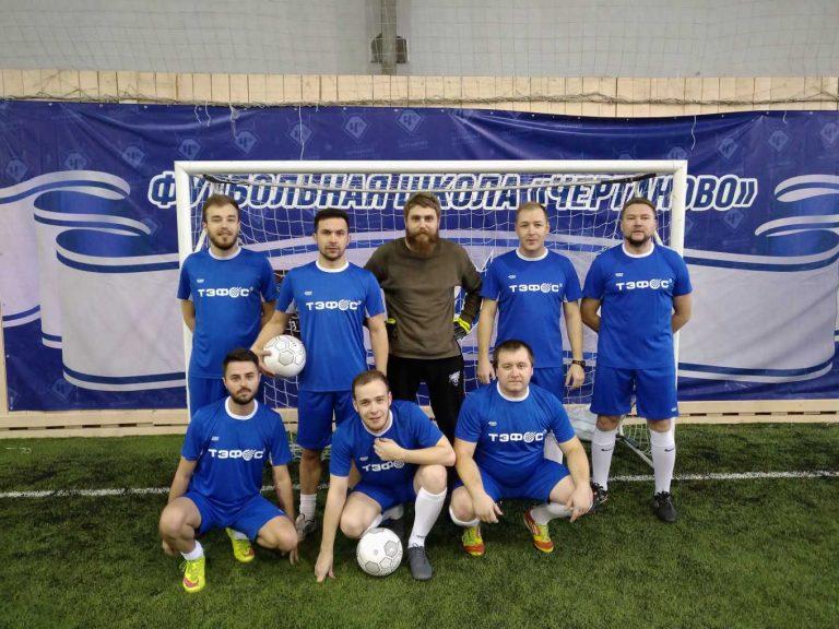 Наша команда по мини-футболу приняла участие в V чемпионате Российского Союза химиков.